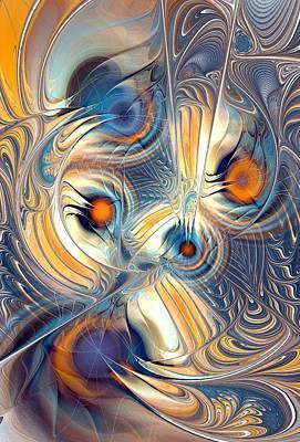 Brain Mixed Media - Random Thoughts by Anastasiya Malakhova