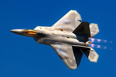 F-22 Photograph - Raptor by Benjamin Yeager