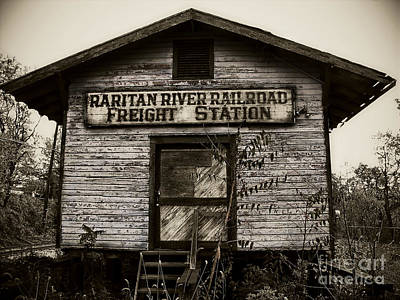 Raritan River Railroad Print by Colleen Kammerer