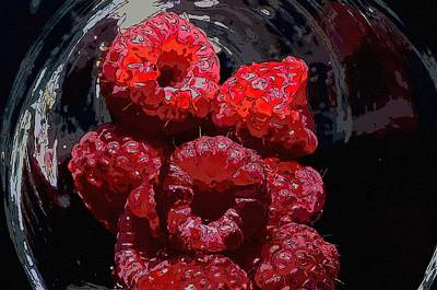 Raspberries Original by Toppart Sweden