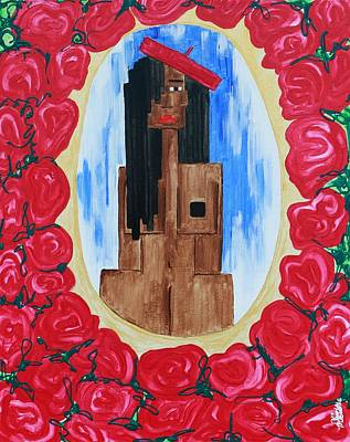Raspberry Beret Original by Aliya Michelle