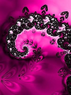 Raspberry Digital Art - Raspberry by Sharon Lisa Clarke