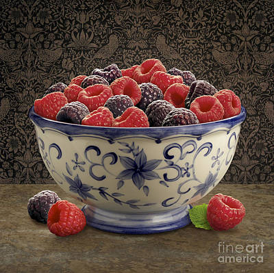 Raspberry Digital Art - Raspberry Still Life by Danny Smythe