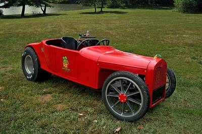 1923 Ford Model T Photograph - Rat Fink 1923 Ford Model T Roadster by Tim McCullough