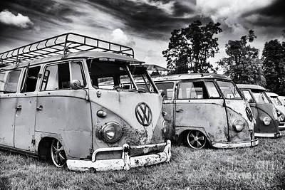 60s Photograph - Rat Vans by Tim Gainey