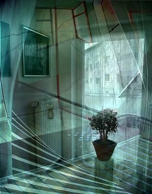 Fenster Photograph - Raumkontinuum by Gertrude Scheffler