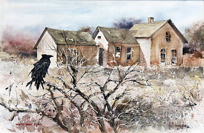Pause Painting - Raven Roost by Monte Toon