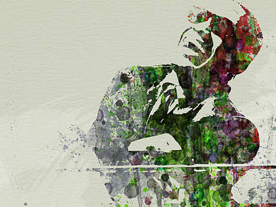 Saxophone Painting - Ray Charles by Naxart Studio