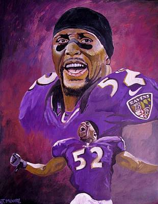 Ray Lewis Original by Jeremy Moore