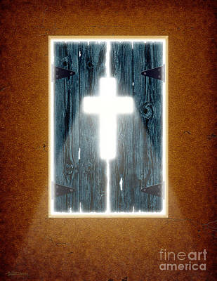 Jesus Christ Digital Art - Ray Of Light by Cristophers Dream Artistry