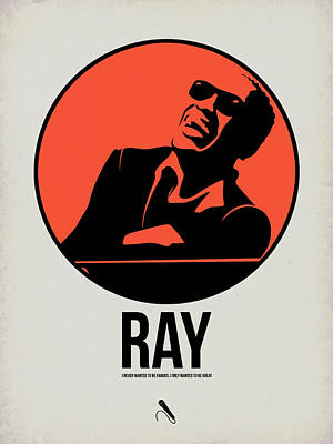 Jazz Mixed Media - Ray Poster 1 by Naxart Studio