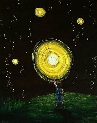 Stary Sky Painting - Reach by Pamela Blayney