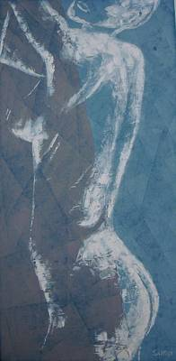 High Side Painting - Reaching by Sunel De Lange