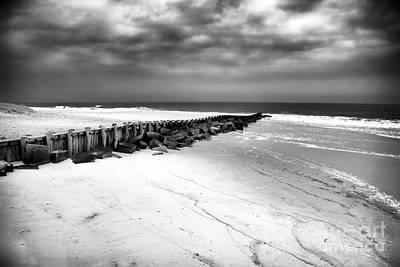 Reaching The Ocean Print by John Rizzuto
