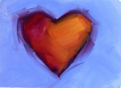 Painting - Ready For Love by Mary Byrom