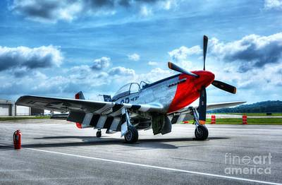 P51 Photograph - Ready For Takeoff by Mel Steinhauer