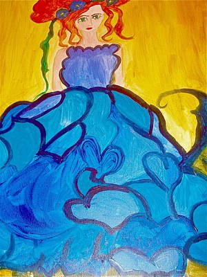 Ready For The Dance Of Hearts Original by Marian Griffin