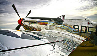 Warbird Mixed Media - Ready To Fly by Chas Burnam