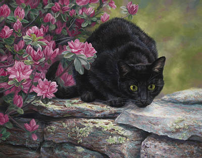 Ready To Pounce Original by Lucie Bilodeau