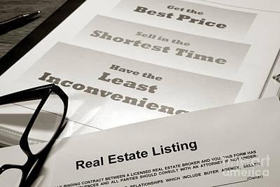 Realtor Photograph - Real Estate Listing Presentation  by Olivier Le Queinec