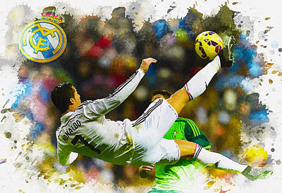 Real Madrid - Cristiano Ronaldo Original by Don Kuing