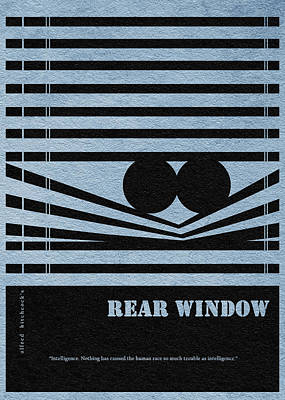 Rear Window Print by Ayse Deniz