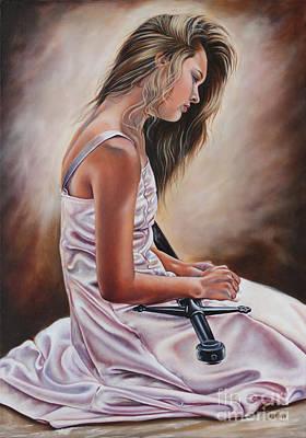 Painting - Rebecca by Ilse Kleyn
