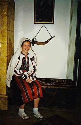 Rebekah In Romania Print by Sarah Loft