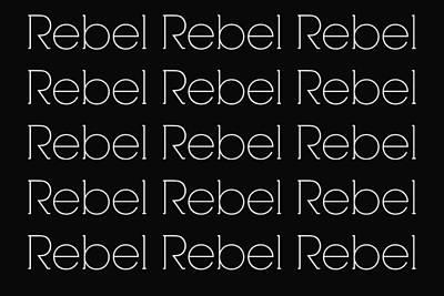 Gypsy Digital Art - Rebel Rebel by Chastity Hoff