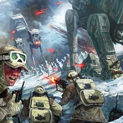 Alliance Digital Art - Rebel Rescue by Ryan Barger