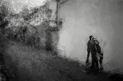 Monster Digital Art - Reconnoiter by Wendy J St Christopher