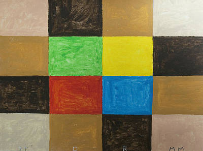 Abstract Patterns Painting - Rectangles by Stormm Bradshaw