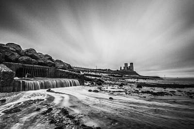 Reculver Photograph - Reculver - Long Exposure. by Ian Hufton