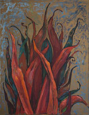 Red Algae Original by Dariya Tishchenko-Zhuravel