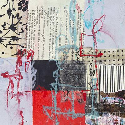 Avant Garde Mixed Media - Red And Black by Elena Nosyreva