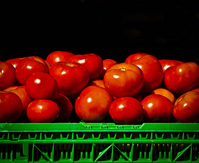 Fresh And Delicious Photograph - Red And Ripe by Christi Kraft