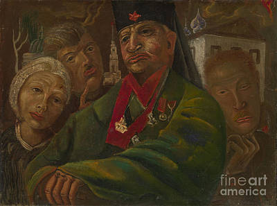Putin Painting - Red Army General by Celestial Images