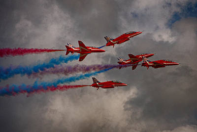 Red Arrows Rollback Print by Phil Clements