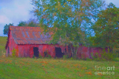 Red Barn Seven Print by Ken Frischkorn