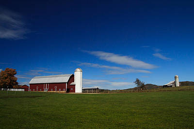 Virginia Photograph - Red Barn by Shane Holsclaw