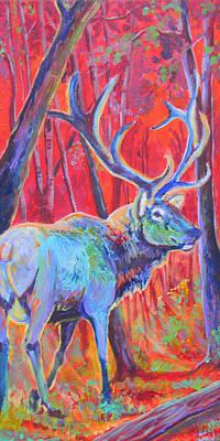 Red Dawn Print by Jenn Cunningham
