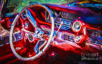 Red Drive Print by Perry Webster