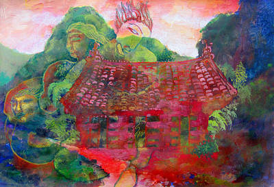 Red Festival Print by James Huntley