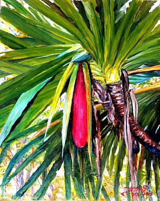 Red Fruit  Original by Jason Sentuf