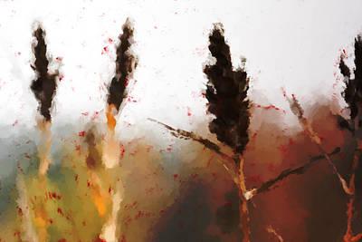 Red Grass Original by Toppart Sweden