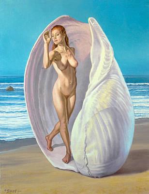 Red-haired Venus Print by Paul Krapf