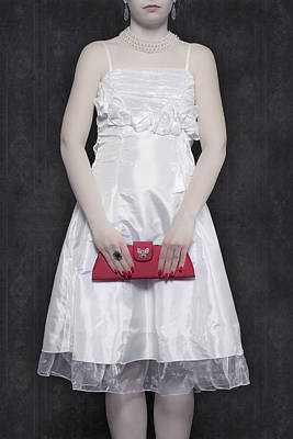 Choker Photograph - Red Handbag by Joana Kruse