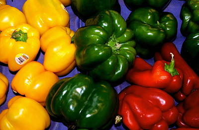 Bellpeppers Photograph - Red Hot Peppers by Luis-Enrique Valles