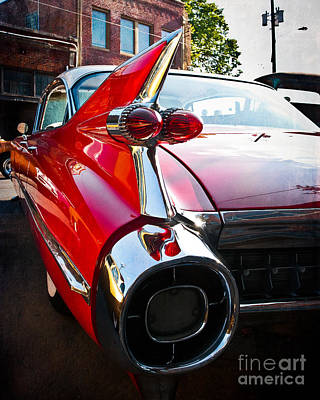 Squint Photograph - Red Hot Rod by Sonja Quintero