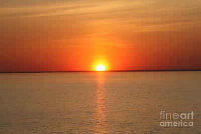 Photograph - Red-hot Sunset by John Telfer